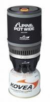 Газовая горелка с кружкой Kovea Alpine Pot Wide KB-0703W